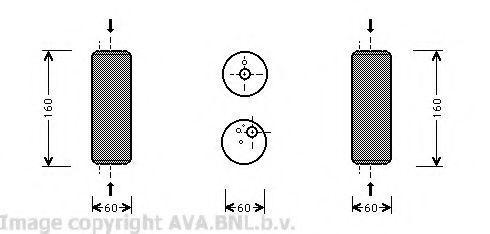 Осушитель кондиционера AVA VWD014
