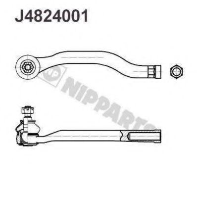 Наконечник рулевой тяги NIPPARTS J4824001