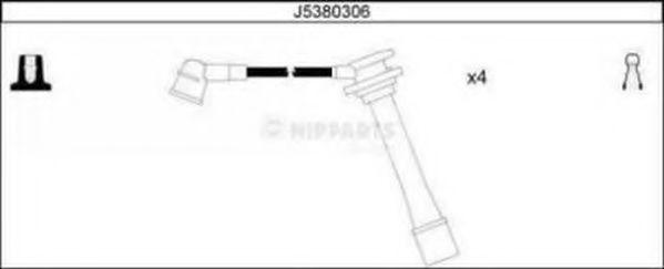 Провода высоковольтные комплект NIPPARTS J5380306
