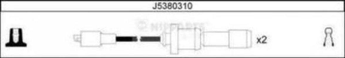 Провода высоковольтные NIPPARTS J5380310