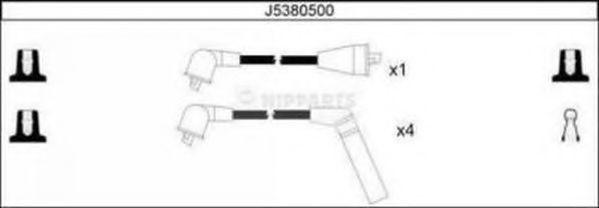 Провода высоковольтные комплект NIPPARTS J5380500