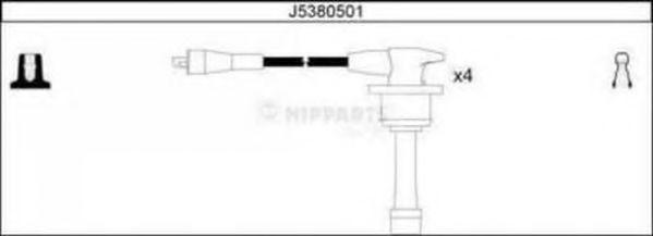 Провода высоковольтные комплект NIPPARTS J5380501