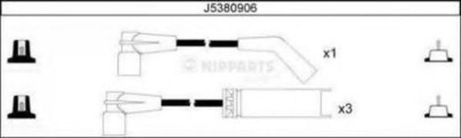Провода высоковольтные комплект NIPPARTS J5380906