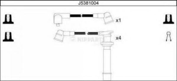 Провода высоковольтные комплект NIPPARTS J5381004