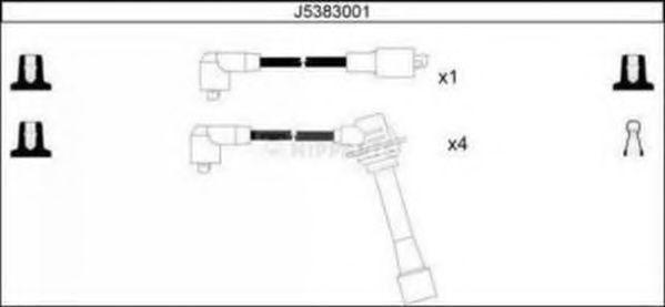 Провода высоковольтные комплект NIPPARTS J5383001
