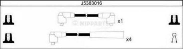Провода высоковольтные комплект NIPPARTS J5383016