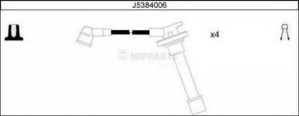 Провода высоковольтные комплект NIPPARTS J5384006