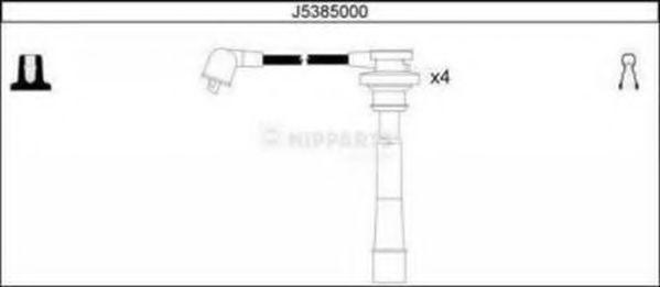Провода высоковольтные комплект NIPPARTS J5385000