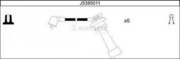 Провода высоковольтные комплект NIPPARTS J5385011