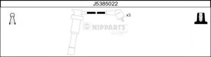 Комплект проводов зажигания NIPPARTS J5385022