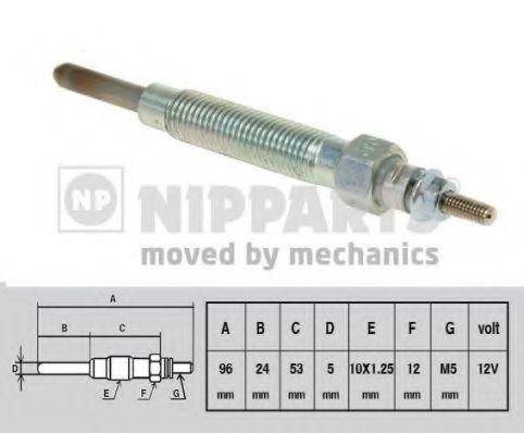 Свеча накаливания NIPPARTS J5710300