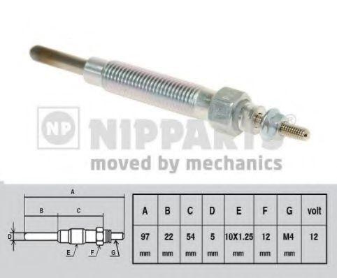 Свеча накаливания NIPPARTS J5710500