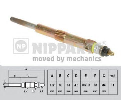 Свеча накаливания NIPPARTS J5710501