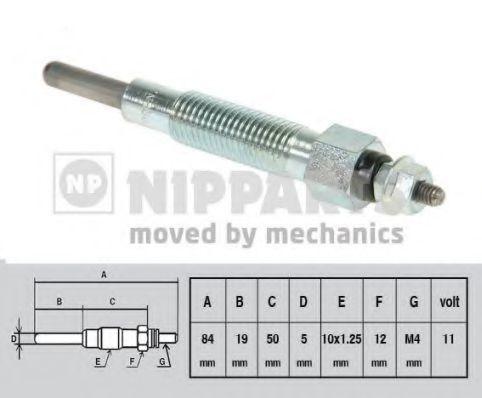 Свеча накаливания NIPPARTS J5711012