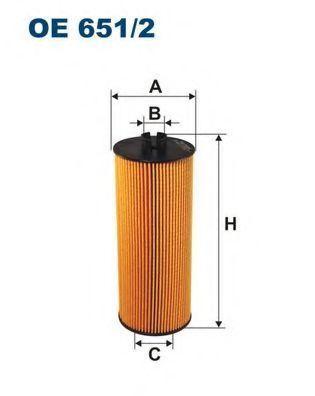 Фильтр масляный FILTRON OE6512