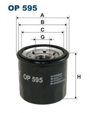 Фильтр масляный FILTRON OP595