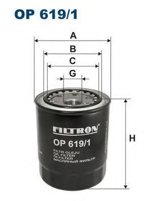 Фильтр масляный FILTRON OP6191