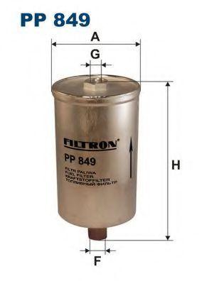 Фильтр топливный FILTRON PP849