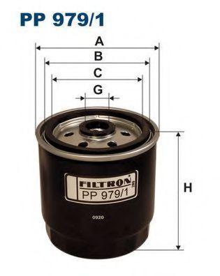 Фильтр топливный FILTRON PP9791