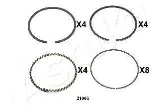 Поршневое кольцо ASHIKA 3421003