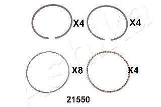 Поршневое кольцо ASHIKA 3421550