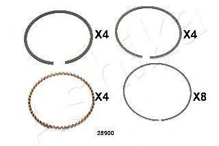 Поршневое кольцо ASHIKA 3428900
