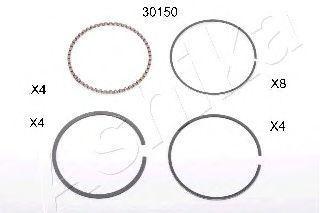 Поршневое кольцо ASHIKA 3430150