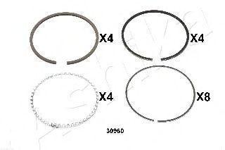 Поршневое кольцо ASHIKA 3430960