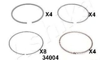 Поршневое кольцо ASHIKA 3434004