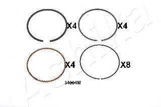 Поршневое кольцо ASHIKA 3434004M