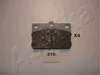 Колодки тормозные ASHIKA 5002210