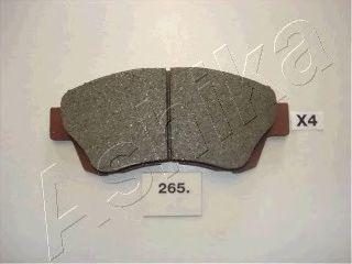 Колодки тормозные ASHIKA 5002265