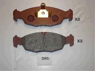 Колодки тормозные дисковые ASHIKA 50-03-390