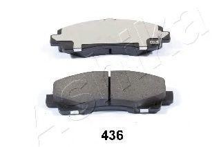 Колодки тормозные ASHIKA 5004436