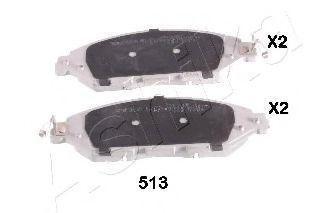 Колодки тормозные ASHIKA 50-05-513