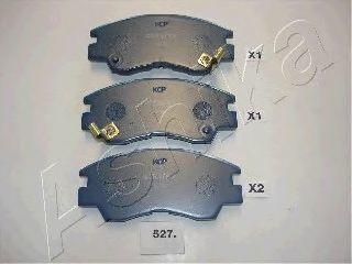 Колодки тормозные дисковые ASHIKA 50-05-527