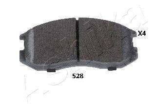 Колодки тормозные дисковые ASHIKA 50-05-528