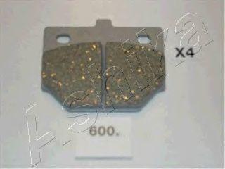 Колодки тормозные ASHIKA 50-06-600