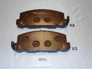 Колодки тормозные ASHIKA 50-09-901