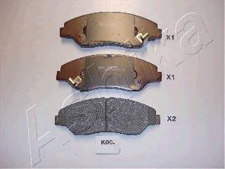 Колодки тормозные ASHIKA 50-K0-000