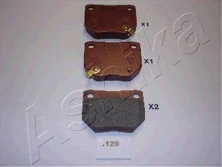 Колодки тормозные ASHIKA 51-01-129