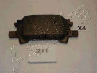 Колодки тормозные ASHIKA 5102211