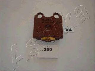 Колодки тормозные дисковые ASHIKA 51-02-260