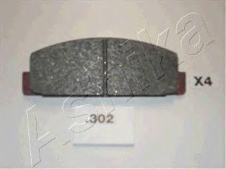 Колодки тормозные дисковые ASHIKA 51-03-302