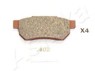 Колодки тормозные дисковые ASHIKA 51-04-402