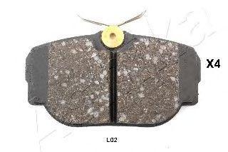 Колодки тормозные ASHIKA 51-0L-L02