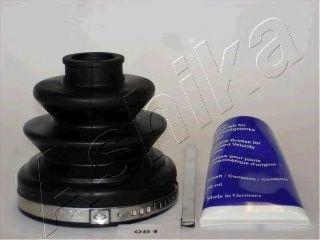 Комплект пылника, приводной вал ASHIKA 6300081