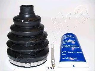 Комплект пылника, приводной вал ASHIKA 6302231