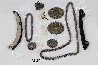 Ремкомплект цепи ГРМ ASHIKA KCK-301