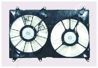 Вентилятор, охлаждение двигателя ASHIKA VNT152502